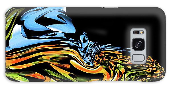 Wave Of Colors Galaxy Case