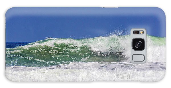 Wave Rolling To The Beach Galaxy Case