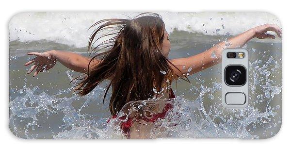 Wave Splash Galaxy Case