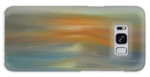 Wave Swept Sunset Galaxy Case by Dan Sproul