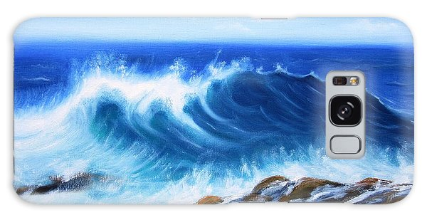 Wave Galaxy Case by Vesna Martinjak