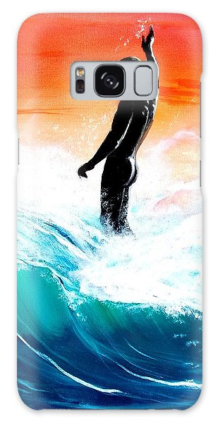 Wave Walk Galaxy Case