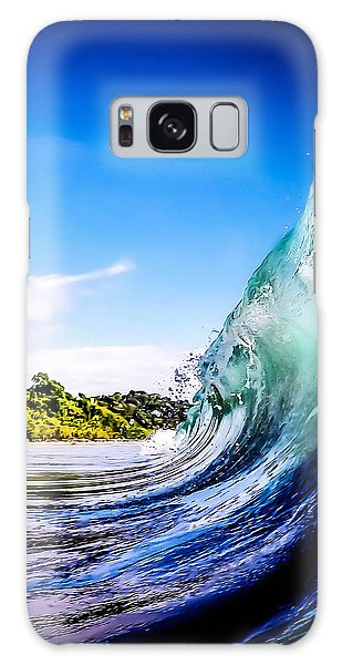 Waves Galaxy Case - Wave Wall by Nicklas Gustafsson