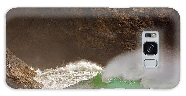 Waves At Waikiki Galaxy Case