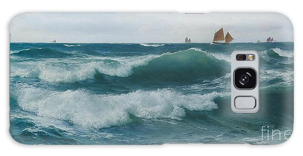 Breaking Dawn Galaxy Case - Waves Breaking In Shallow Waters by Celestial Images