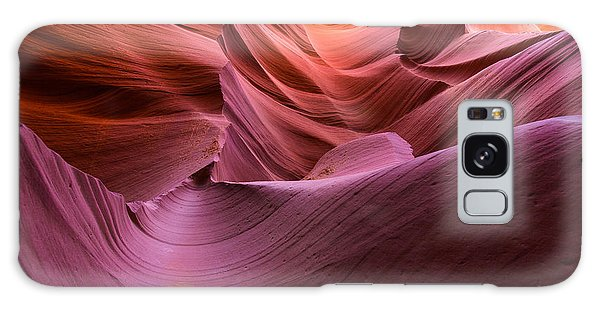 Waves-lower Antelope Canyon Galaxy Case