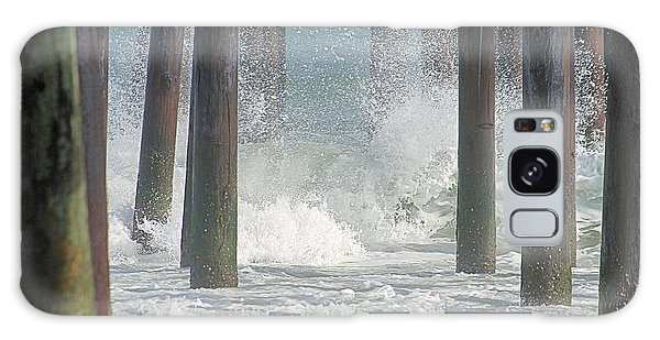 Waves Under The Pier Galaxy Case