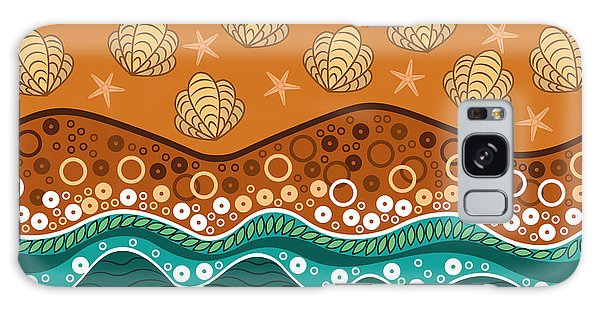 Colour Galaxy Case - Waves by Veronica Kusjen