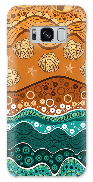 Bright Galaxy Case - Waves by Veronica Kusjen