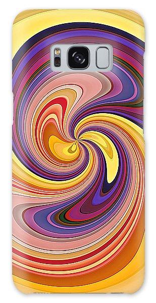 Wavy Stripes Figure 1 Galaxy Case