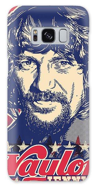 Actor Galaxy Case - Waylon Jennings Pop Art by Jim Zahniser