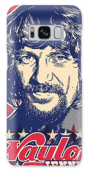Pop Galaxy Case - Waylon Jennings Pop Art by Jim Zahniser