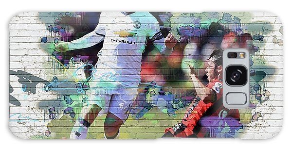 Wayne Rooney Street Art Galaxy Case