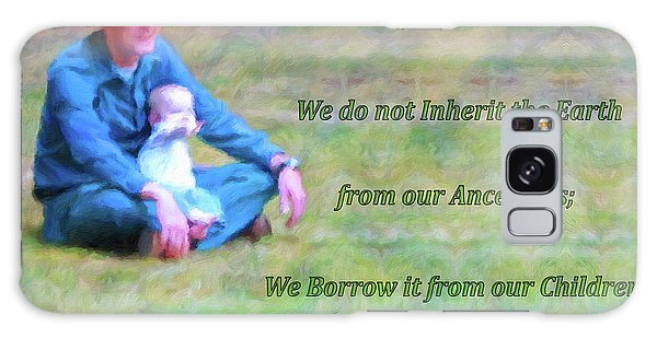 We Do Not Inherit The Earth - V3 Galaxy Case