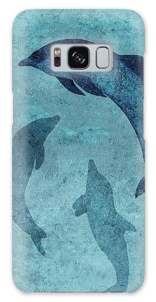 We Dream Again Of Blue Green Seas Galaxy Case