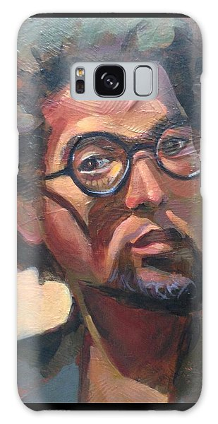 Galaxy Case featuring the painting We Dream by JaeMe Bereal