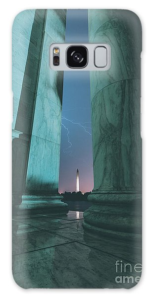 Washington Monument Galaxy Case - We Hold These Truths by Rami Ruhman