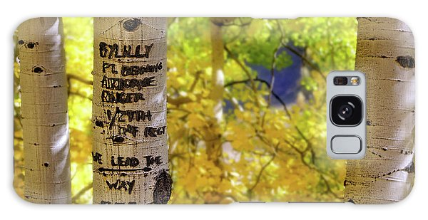 Galaxy Case featuring the photograph We Lead The Way - Aspens - Colorado - Airborne Ranger by Jason Politte