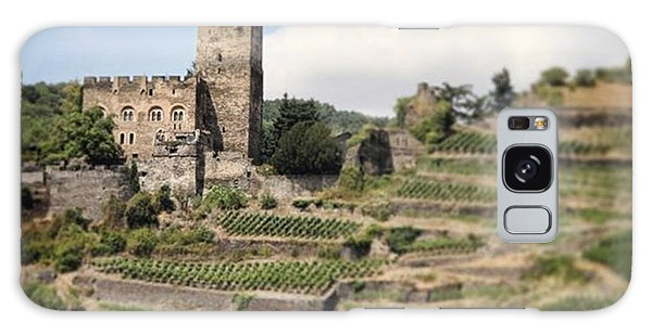 Fantasy Galaxy Case - Rhine River Castle And Winery by Nancy Ingersoll
