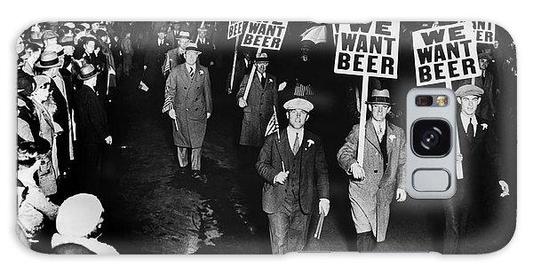 We Want Beer Galaxy Case by Jon Neidert
