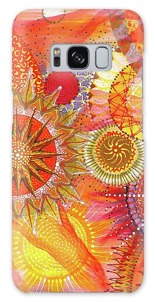 Galaxy Case featuring the painting We Will Have Many Suns #2 by Kym Nicolas