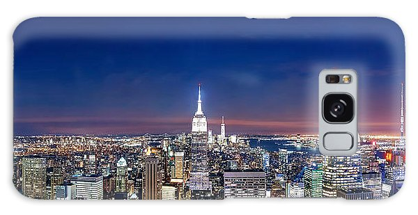 Chrysler Building Galaxy Case - Wealth And Power by Az Jackson