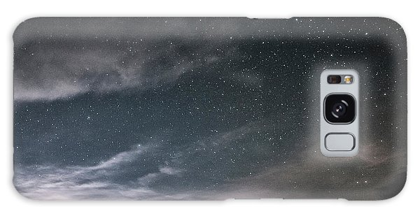 Galaxy Case featuring the photograph Weather On The Horizon by Melany Sarafis
