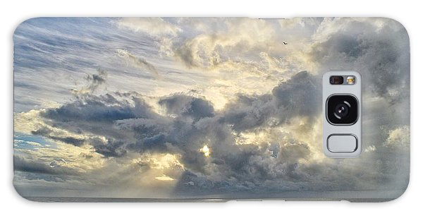 Weather Over Topsail Beach 2977 Galaxy Case