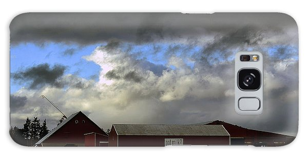 Weather Threatening The Farm Galaxy Case