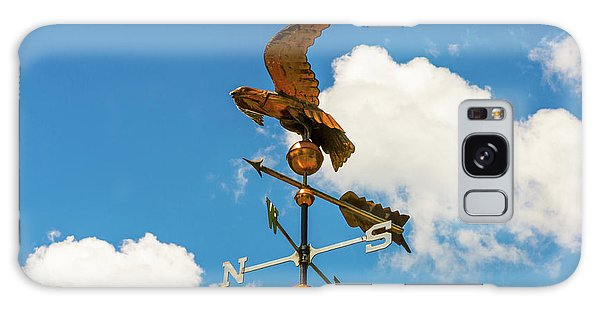 Weather Vane On Blue Sky Galaxy Case