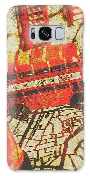 Old Car Galaxy Case - Weathered Bus Routes by Jorgo Photography - Wall Art Gallery