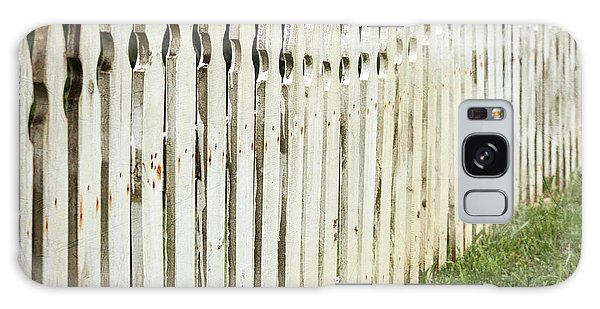 Weathered Fence Galaxy Case