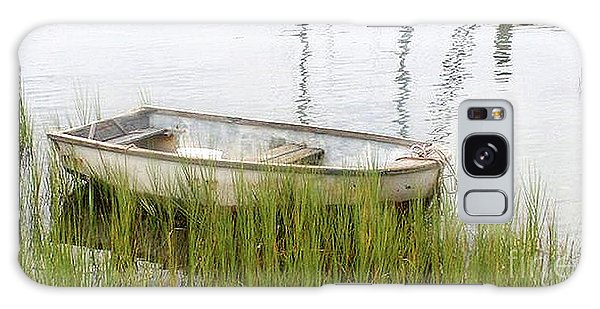Weathered Old Skiff - The Outer Banks Of North Carolina Galaxy Case