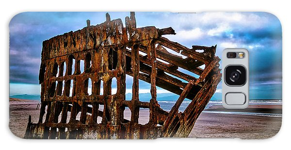 Peter Iredale Galaxy Case - Weathered Shipwreck by Garry Gay