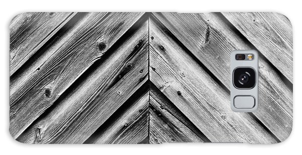 Weathered Wood Galaxy Case by Larry Carr