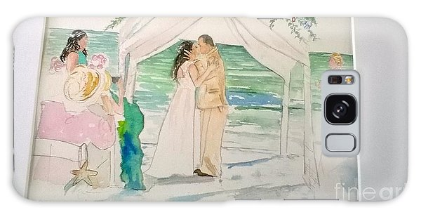 Wedding At Naples, Florida Galaxy Case