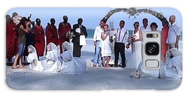 Wedding Complete Panoramic Kenya Beach Galaxy Case