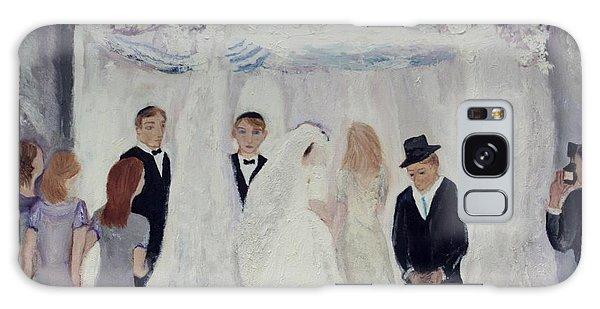 Wedding Day Galaxy Case by Aleezah Selinger
