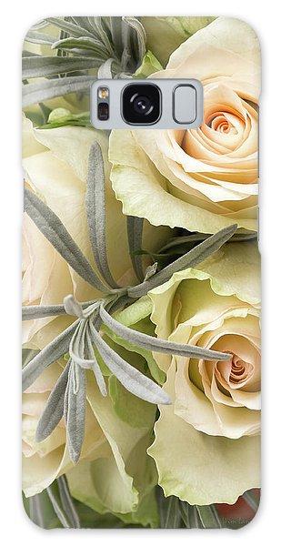 Wedding Flowers Galaxy Case