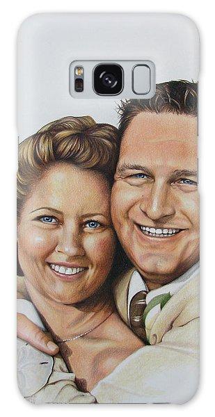 Wedding Portrait Jeremy N Katie Galaxy Case
