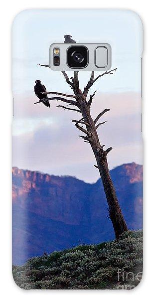 Wedge Tail Eagles Galaxy Case by Bill  Robinson