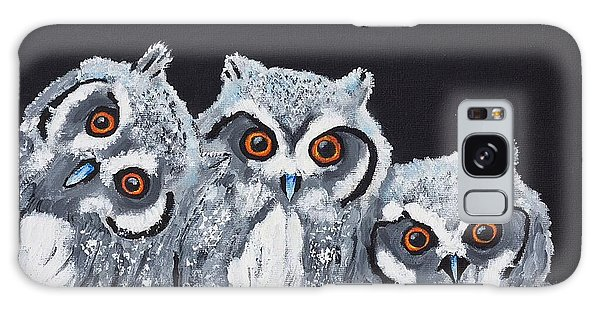 Wee Owls Galaxy Case