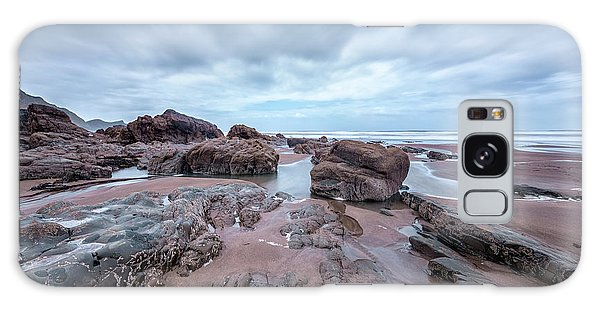 North Devon Galaxy Case - Welcombe Mouth Beach - England by Joana Kruse