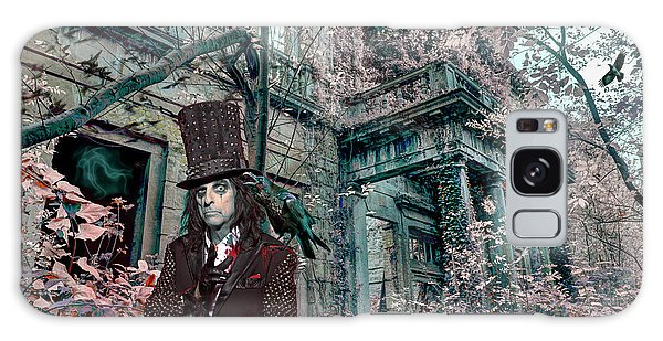 Alice Cooper Galaxy Case - Welcome 2 My Nightmare by Mal Bray