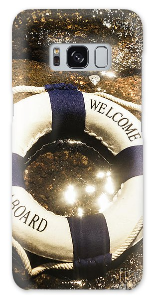 Missing Galaxy Case - Welcome Aboard Nautical Paradise by Jorgo Photography - Wall Art Gallery