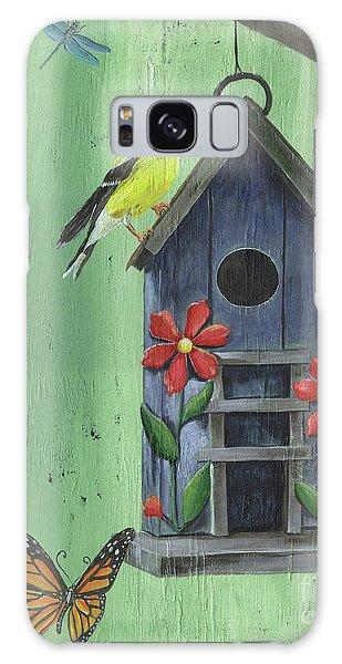 Monarch Galaxy Case - Welcome Goldfinch by Debbie DeWitt