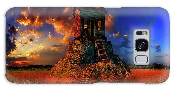 Cottage Galaxy Case - Welcome Home by Geje De Groot