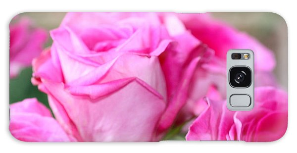 Welcome In Pink Galaxy Case by Cathy Dee Janes