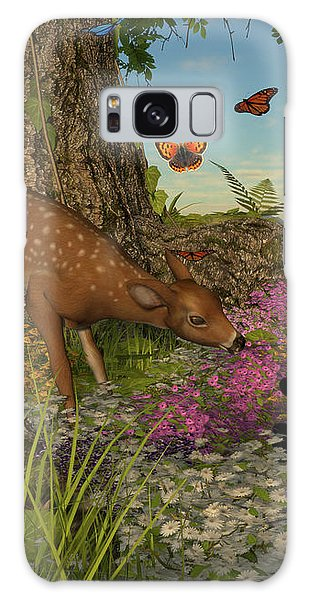 Welcome Spring Galaxy Case by Methune Hively