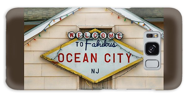 Welcome To Fabulous Ocean City N J Galaxy Case